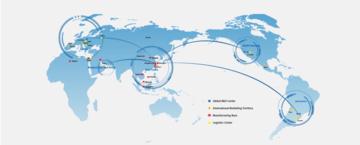Mapa mundi Chint global